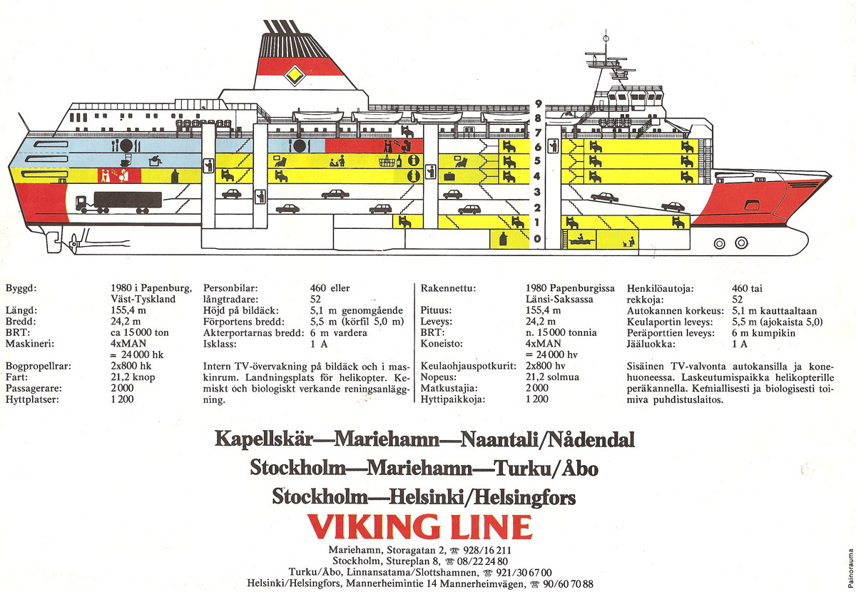 viking line tax free lahjakortti